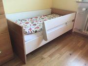 Paidi Babybett mit Umbauseiten Matratze