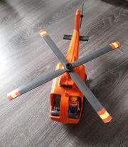 Playmobil Hubschrauber mit einer Figur