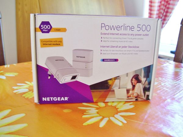 NETGEAR dLAN POWERLINE ADAPTER 500