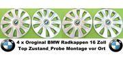 4 Originale BMW Radkappen 16