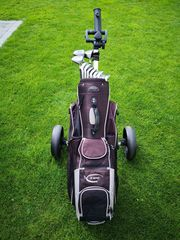 Top Zustand Golfbag mit Räder