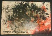 Ash Bild Gemaelde Painting Kunst