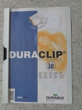 Büromaterial - Klemm-Mappe DURACLIP DIN A4 f