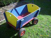 Holz Bollerwagen Transportwagen Handwagen