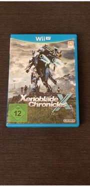 WII-U Spiel Xenoblade Chronicles sgt