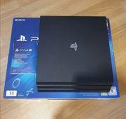 Playstation 4 Pro 1TB Neuwertig