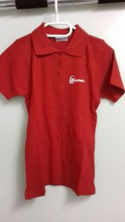 airberlin Poloshirt rot XS