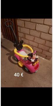 Minni Mouse Rutschauto
