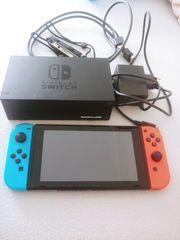 Nintendo Switch mit Zubehör unf