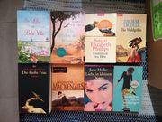 80 Bücher Frauenromane und Historische