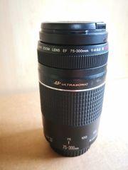 Canon EF 75-300mm F 4