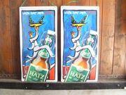 2 Blechschilder von Hatz