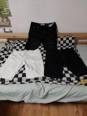 3 kurze Jeanshosen gr S
