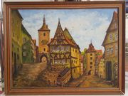 Gemälde Rothenburg o d Tauber