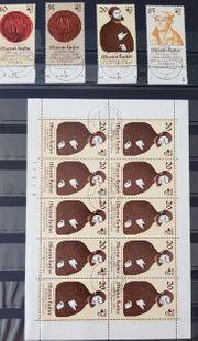 DDR Briefmarken Martin Luther Ehrung