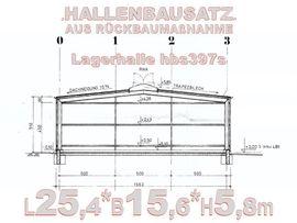 Sonstiger Gewerbebedarf - Rückbau- Stahlhalle Lagerhalle 25 4