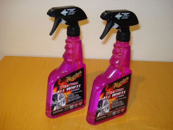 2 x Meguiars Hot Rims