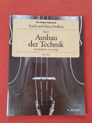 Das Geigen-Schulwerk-Ausbau der Technik innerhalb