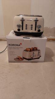 Retro Design Toaster teilweise Defekt