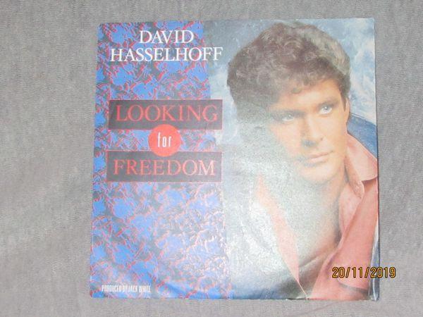 Looking for Freedom Schallplatte 45