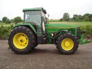Traktor John Deere 8200 Bordcomputer