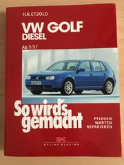 VW Golf IV Diesel Buch