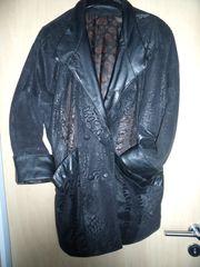 Damenlederjacke - versch Muster - L XL