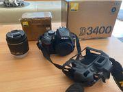 Nikon D3400 mit DX 18-55