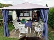 Mobilheim feststehend auf Campingplatz im