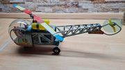 Blechspielzeug Helikopter 70er Jahre