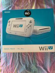Wii U mit Spielen und