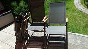 4 Gartenklappstühle Colmar von Dehner