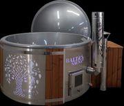 Baltic Sauna Badezuber DELUXE mit