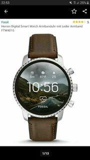 Fossil Smartwatch Herren