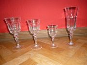 Gläser aus Kristallglas