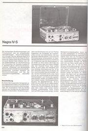 NAGRA IV-S NQS-LSP TOP Zustand