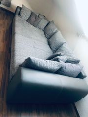 Couch Eckcouch Sofa mit Schlaffunktion