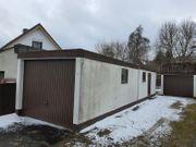 3 Stück gebrauchte Fertig Garagen