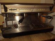 Siebträger Kaffeemaschine zweigruppig zu verkaufen