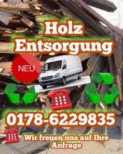 Kostengünstige Entsorgung Ihres Holzes