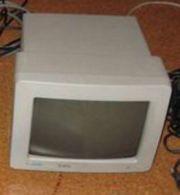 Atari Monitor Schwarz-Weiß SM124