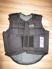 Reit-Sicherheitsweste Flexi Black von L-Safety