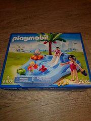 Playmobil 6673 Babybecken mit Rutsche