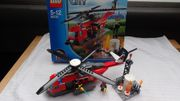 LEGO Fire Helicopter 60010 neuwertig