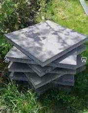 Terrassenplatten zu verschenken