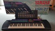 Electronic Keyboard von YAMAHA PSR