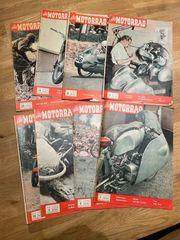 Das Motorrad 1956 Konvolut