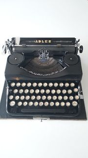 Adler Koffer Schreibmaschine