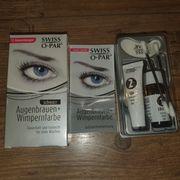 Swiss-o-Par Augenbrauen und Wimpernfarbe schwarz