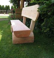 Gartenbank aus Holz Holzbank Krongartmöbel